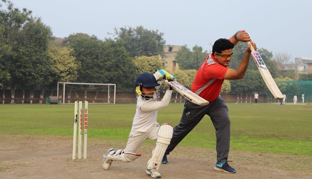 Kps Student Play cricket