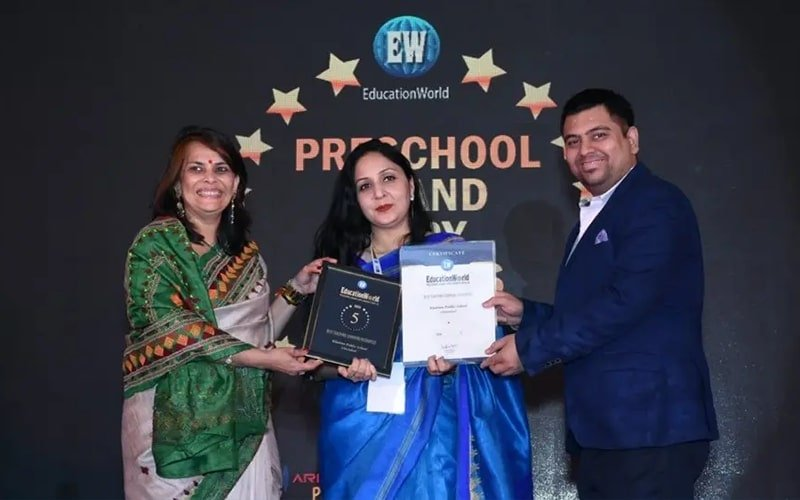 PAN INDIA RANK #5 Education World